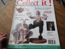 COLLECT IT JUN 1997 #1 MAGAZINE ROYAL WINTON LILLIPUT WALLACE GROMIT TEDDY BEARS